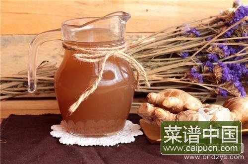 驱寒生姜茶做法