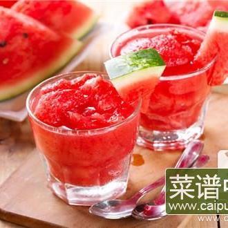西瓜油桃能一起吃吗