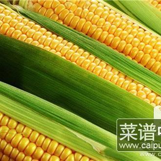 脆皮玉米的做法及配料