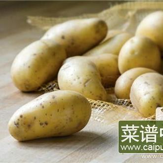 土豆表皮有点绿