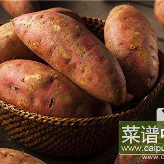 晚上吃红薯