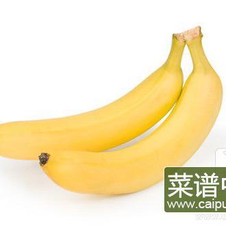 香蕉和什么一起吃头发变黑?