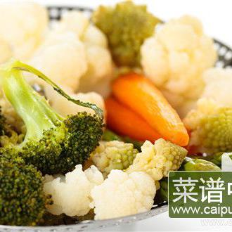 绿茶椰菜花