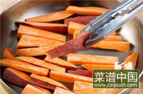 炸红薯片热量