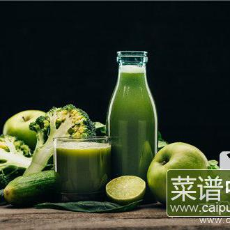 什么菜汁和面颜色最绿