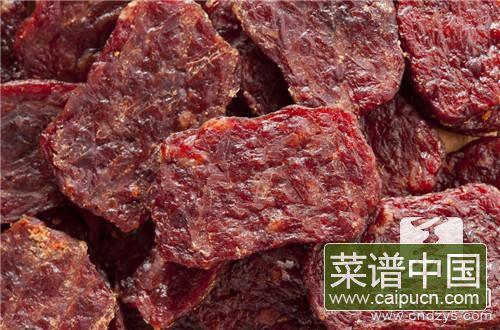 炸牛肉干的做法大全