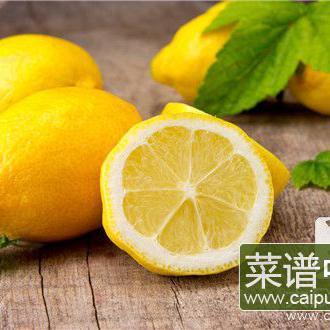 柠檬加菊花功效和作用