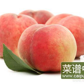 桃子不可以和什么水果一起吃