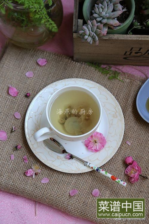 春天喝这茶最养生,尤其是女人,每天一杯,改善气色效果佳!