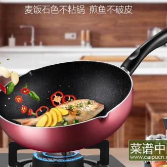 用上这口麦饭石锅?厨艺不好也可以做出美味佳肴,养生又长寿!